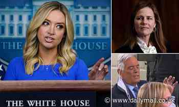 Kayleigh McEnany holds car crash White House briefing, prompting furious tirade by Fox News reporter