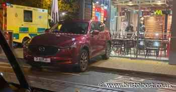 Diner injured after car crashes through KFC window