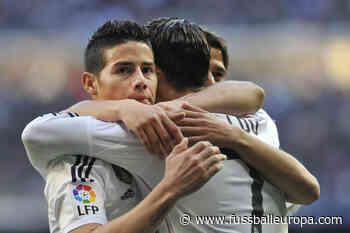 """War nicht schlecht"": James Rodriguez reagiert auf Huldigung - Fussball Europa"