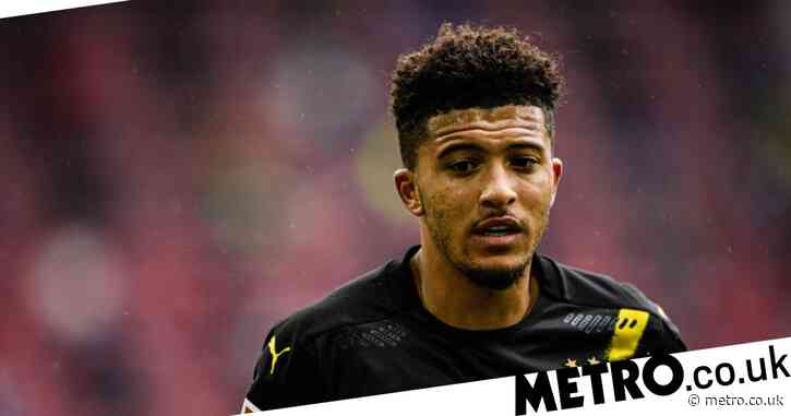 Jadon Sancho absent from Dortmund training amid Manchester United speculation