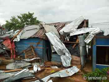 Serían más de 300 las viviendas destechadas por vendaval en Puerto Libertador - LA RAZÓN.CO