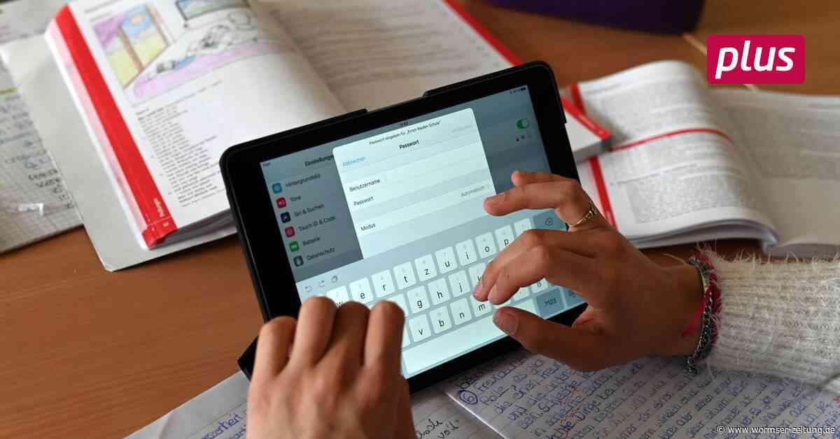70 mobile Endgeräte für die Schulen der VG Monsheim - Wormser Zeitung