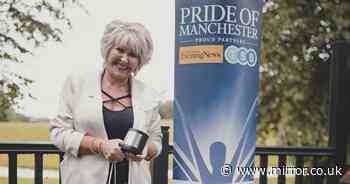 Child grooming whistleblower Maggie Oliver's happy tears at Pride award