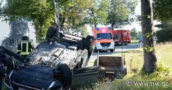 66-Jähriger fährt in Rietberg gegen Baum und stirbt später im Krankenhaus - Neue Westfälische