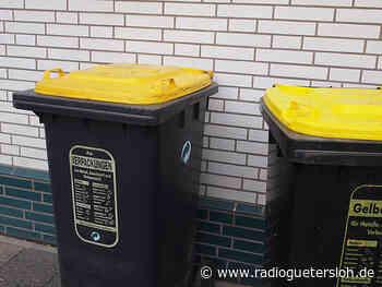 Die Stadt Rietberg führt Gelbe Tonnen ein - Radio Gütersloh