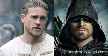 See Charlie Hunnam Don Tactical Green Arrow Suit For The DCEU - Heroic Hollywood