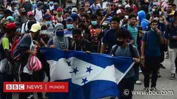 Caravanas de migrantes: sale desde Honduras la primera en tiempos de coronavirus y a un mes de las elecciones en EE.UU. - BBC News Mundo