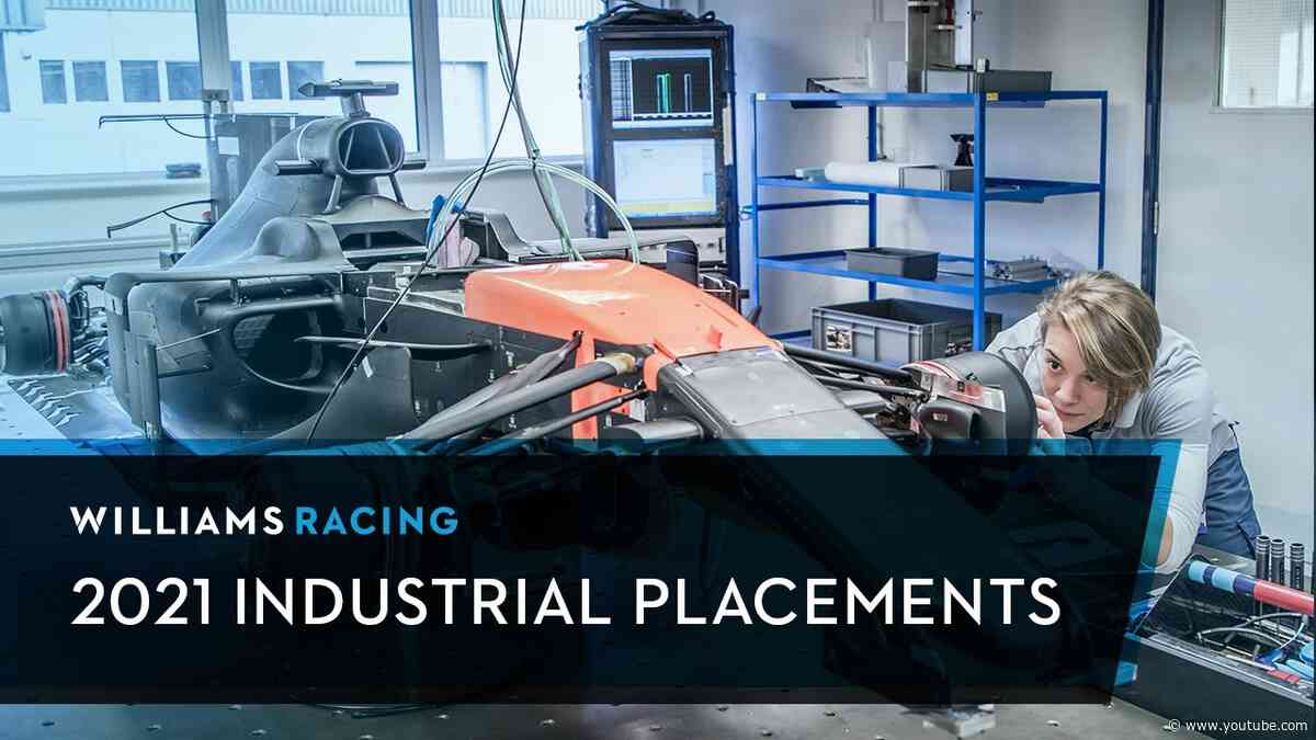 Kick-start Your F1 Career by Joining the Williams Racing 2021 Industrial Placement Scheme!
