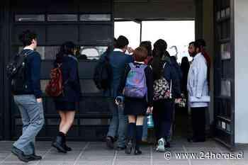 Minsal aclara protocolos y requisitos para abrir colegios - 24Horas.cl