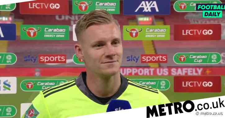 Bernd Leno insists he was always Arsenal's No 1 despite Emi Martinez's emergence
