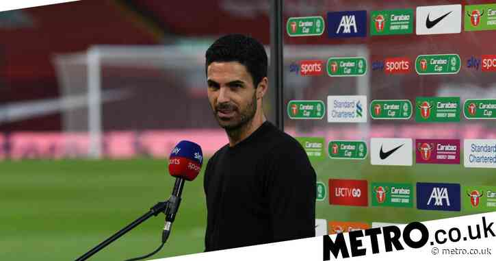 Mikel Arteta reacts to Arsenal drawing Manchester City in Carabao Cup quarter-final after Liverpool victory