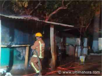 Denuncian incendio intencional del depósito de un comedor para niños - ÚltimaHora.com