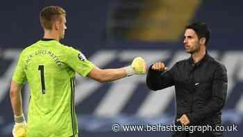 Mikel Arteta hails Bernd Leno as Arsenal earn Carabao Cup quarter-final spot