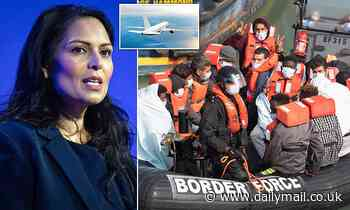 Fiasco as specially chartered plane flies just ONE failed asylum seeker out of the UK