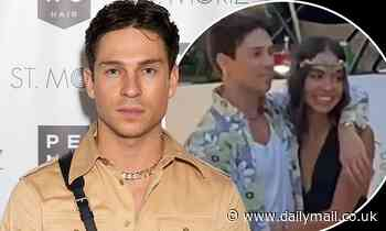 Joey Essex 'has split from his Brazilian model girlfriend Brenda Santos'