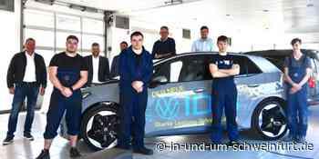 Fünf neue Auszubildende beim Autohaus Vossiek in Schweinfurt und Werneck - inUNDumSCHWEINFURT_DE