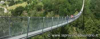Tartano, il Ponte nel cielo risolleva l'estate - La Provincia di Sondrio