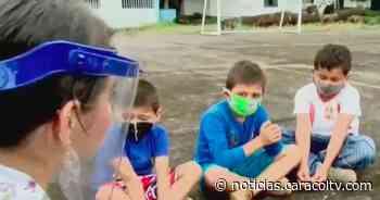 Niños piden que abran escuela en Casanare para no arriesgar más sus vidas por ir a clase - caracoltv.com