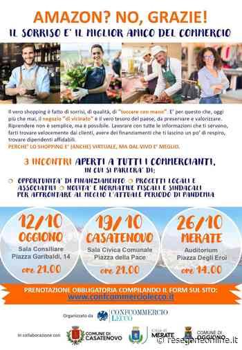 Confcommercio fa tappa a Oggiono, Casatenovo e Merate - ResegoneOnline