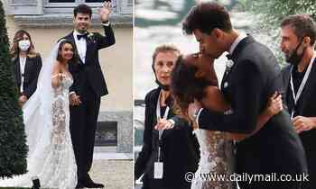 Heiress and Geordie Shore star Elettra Lamborghini marries Dutch DJ Afrojack in Italy - Daily Mail