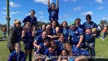 Raymond Terrace rugby league under-13 girls premiership winners - portstephensexaminer.com.au