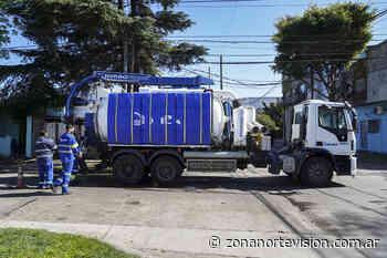 Vicente Lopez previene inundaciones a través de la limpieza de sumideros - zonanortevision.com.ar