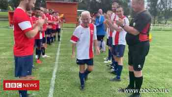 Peter Webster: The 80-year-old footballer preparing to retire