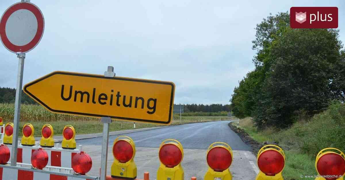 Ostrach saniert einen großen Teil der Ortsumfahrung - Schwäbische