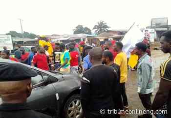 Aggrieved youths shut Okepella-Okene Abuja Highway, over Gulf Treasures Petrol depot in Lagos - NIGERIAN TRIBUNE