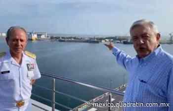 Inaceptable, concesión por 100 años en puerto de Veracruz: López Obrador - Quadratín Michoacán