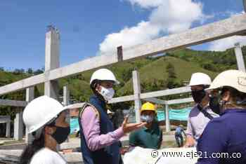 Reiniciaron obras en el megacolegio Integrado Irra, Quinchía - Eje21