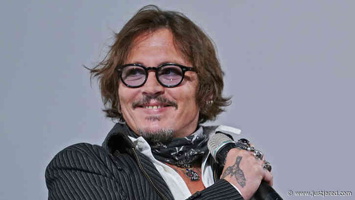Johnny Depp Attends Film Festival in Zurich Amid Latest Update in Legal Battle with Amber Heard