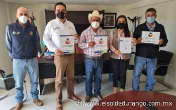 Firman acuerdo el IDEA y el Ayuntamiento de Panuco de Coronado - El Sol de Durango