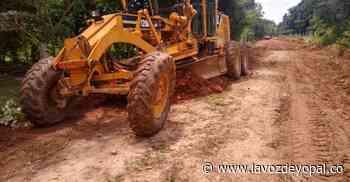 Intervención a vías terciarias en Hato Corozal - Noticias de casanare - lavozdeyopal.co