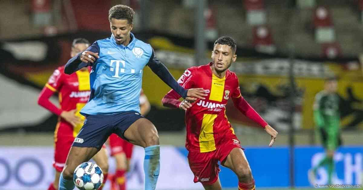 Eerste hattrick van Van Hooijdonk voor NAC, MVV redt punt in Zaanstad
