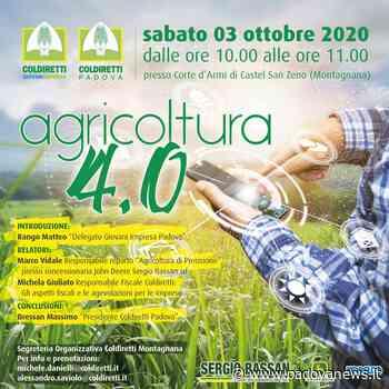 Agricoltura 4.0 e innovazione: incontro a Montagnana il 3 ottobre - Padova News
