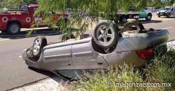 Adulto mayor se vuelca en Jalpa por ir a exceso de velocidad - Imagen de Zacatecas, el periódico de los zacatecanos