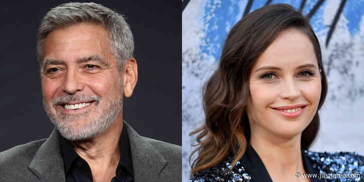 George Clooney Changed The Storyline of 'Midnight Sky' After Learning of Felicity Jones' Pregnancy