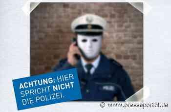 POL-ME: Falsche Polizeibeamte: Seniorin um Schmuck und Bargeld betrogen - Haan - 2010006 - Presseportal.de