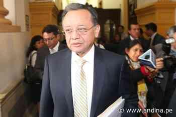 Congreso: declaran procedente dos denuncias contra Edgar Alarcón - Agencia Andina