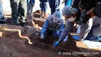 Hallan objetos ceremoniales prehispánicos en Tiahuanaco - Los Tiempos