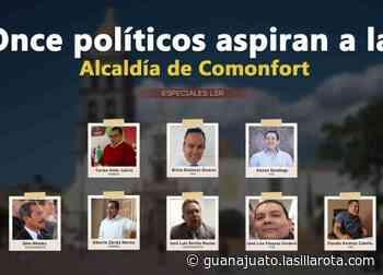 Once políticos aspiran a la Alcaldía de Comonfort - La Silla Rota