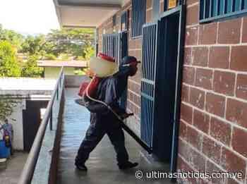 Desinfectaron 5 escuelas en Santa Teresa del Tuy - Últimas Noticias