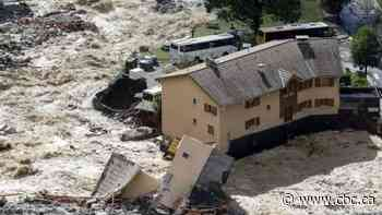 1 killed, 25 missing in severe floods in Italy and France