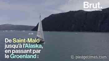 VIDEO. Left from Saint-Malo, they will join Alaska via Greenland - Pledge Times - Pledge Times