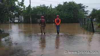 Varias casas afectadas por inundaciones en sector pesquero de Boca de Parita - La Prensa de Panamá