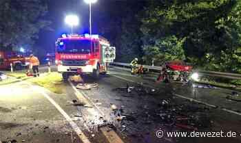 Tragödie auf B 217 - Teenager aus Aerzen kommen bei Frontalcrash ums Leben - Dewezet