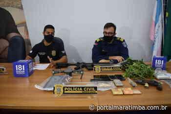 Polícia Civil: Operação 'Concordia' prende advogadas suspeitas de tráfico de drogas - Portal Maratimba