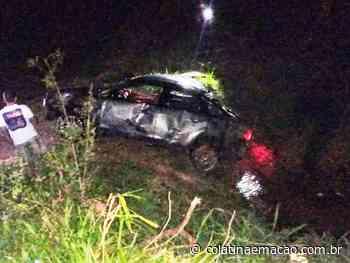 Delegado da Polícia Civil sofre acidente próximo a Ecoporanga - Colatina em Ação