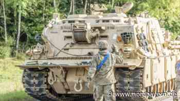 Bilder: Defekter US-Panzer blockierte Straße in der Oberpfalz - Nordbayern.de